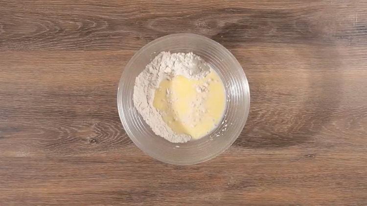 Для приготовления хачапури по имеретински приготовьте ингредиенты для теста