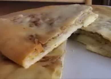 Грузинские хачапури с мясом (Кубдари) — очень вкусно