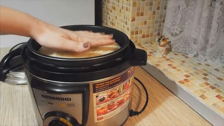 Как приготовит хлеб в мультиварке редмонд
