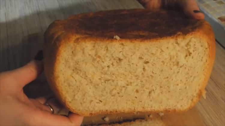 хлеб в мультиварке редмонд готов