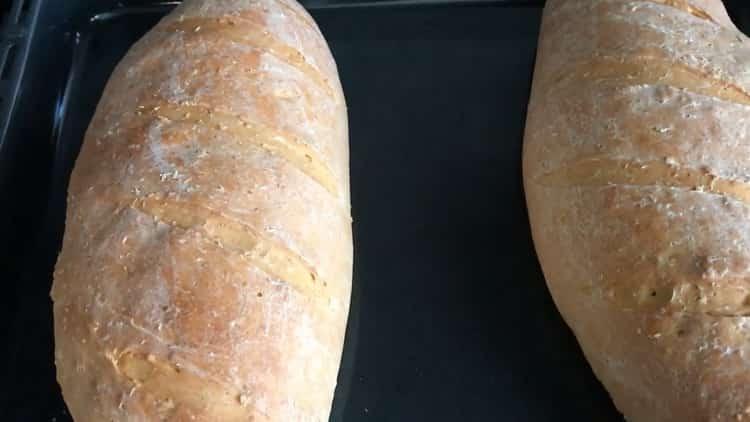 хлеб на сыворотке готов