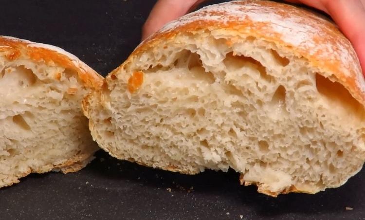 Вкуснейший итальянский хлеб чиабатта готов