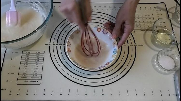 Для приготовления пшенично -ржаного хлеба смешайте ингредиенты