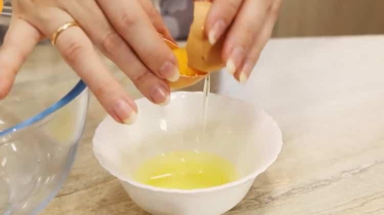 Для приготовления чак чака по классическому рецепту подготовьте ингредиенты