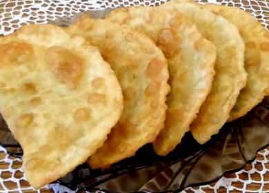 Чебуреки с сыром по пошаговому рецепту с фото