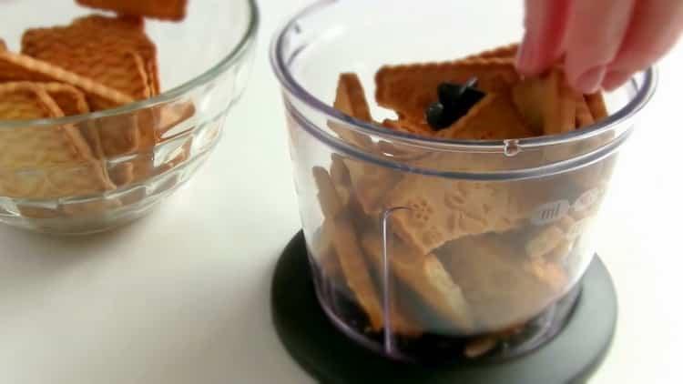 Для приготовления чизкейка без выпечки, подготовьте ингредиенты