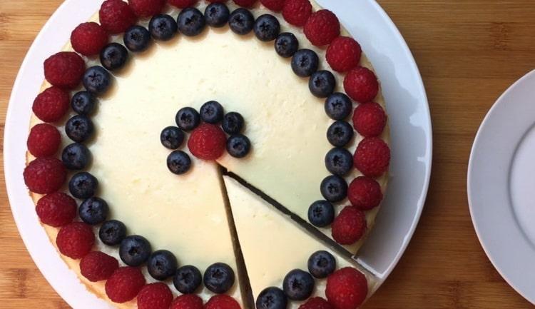 Чизкейк - классический рецепт американского десерта