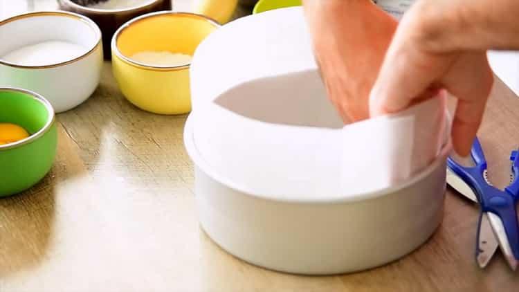 Для приготовления японского хлопкового чизкейка. подготовьте ингредиенты