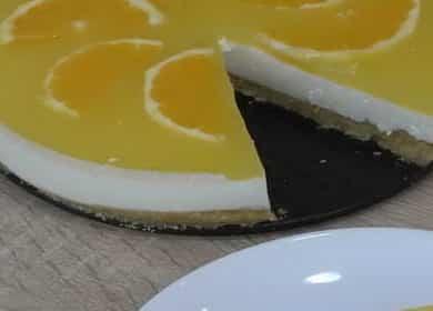 Чизкейк без выпечки с творогом и печеньем — отличный вариант десерта для чаепития или праздничного стола