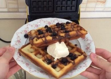 Готовим вкуснейшие венские вафли: рецепт для электровафельницы с фото и видео.