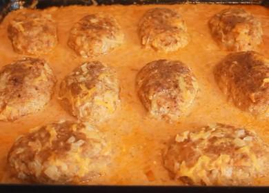 Вкусные ленивые голубцы в томатно-сметанном соусе — готовим в духовке 🍲