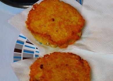 Готовим аппетитные драники с сыром по пошаговому рецепту с фото.
