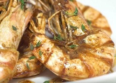 Все о том, как пожарить креветки на сковороде в панцире: пошаговый рецепт с фото.