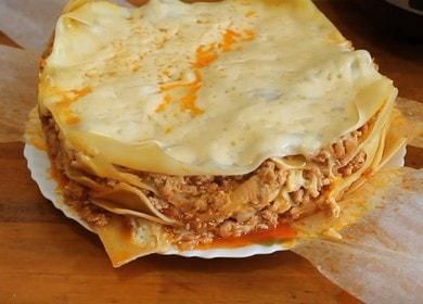 кусная лазанья в мультиварке: готовим по пошаговому рецепту с фото.