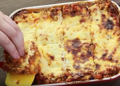 Настоящая итальянская лазанья: рецепт с пошаговыми фото.