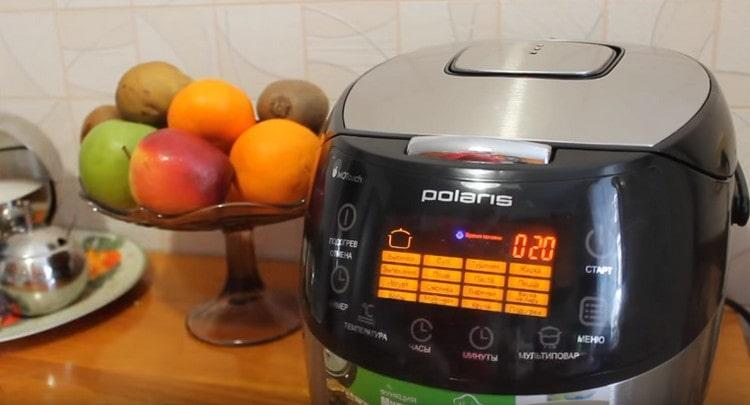 Почти готовое блюдо нужно оставить еще на 20 минут в мультиварке в режиме подогрева.