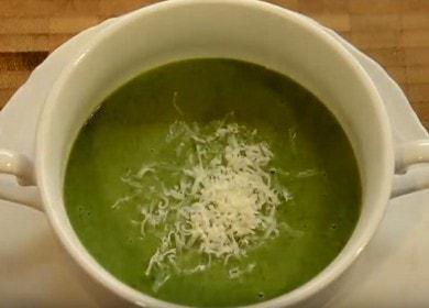 Готовим вкусный суп из свежего шпината по пошаговому рецепту с фото.