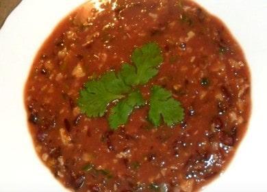 Готовим вкуснейший суп с красной фасолью по пошаговому рецепту с фото.