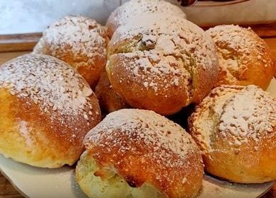 Печем ароматные творожные булочки без дрожжей по рецепту с фото.