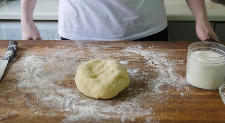 Тесто для перепечей готово.