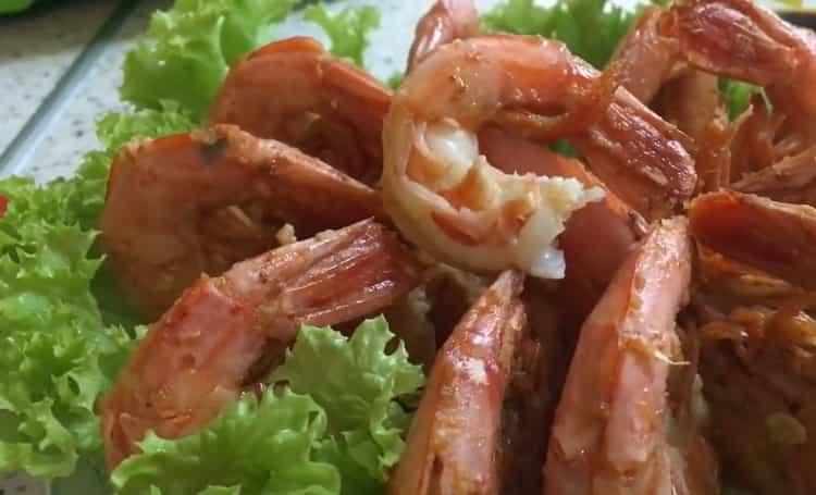 Как приготовить аргентинские креветки в чесночном соусе