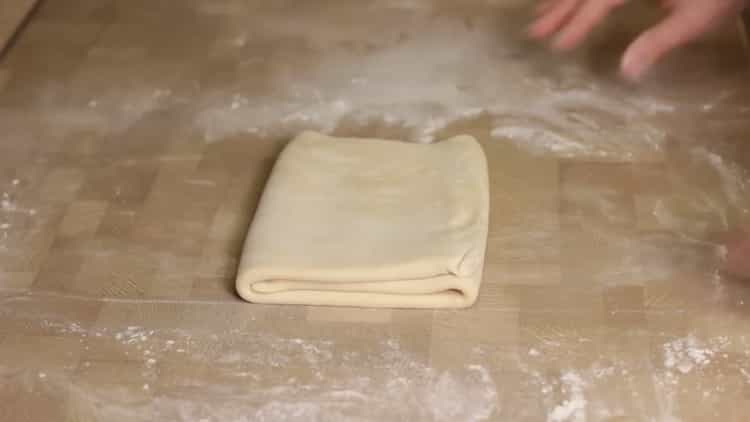Бездрожжевое слоеное тесто по пошаговому рецепту с фото