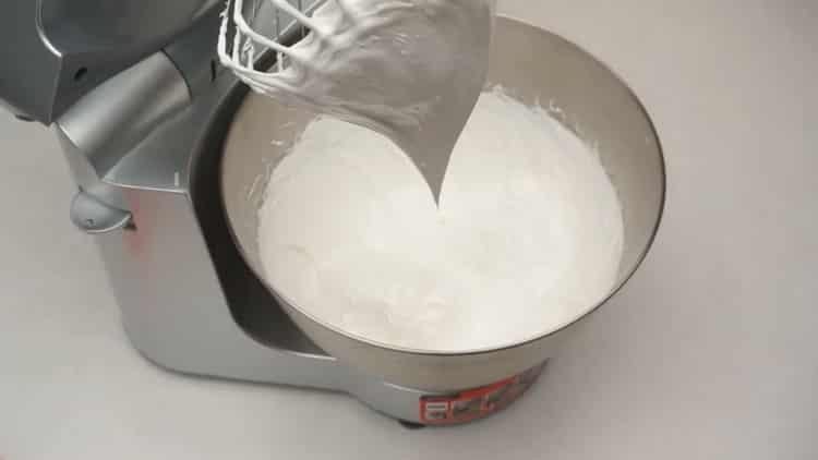 для приготовления безе подготовьте ингредиенты