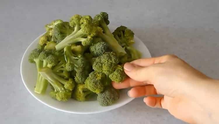 Готовим брокколи по рецепту на сковороде