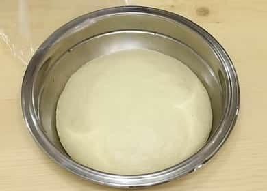 Быстрое и вкусное дрожжевое тесто для пиццы на молоке 🍕