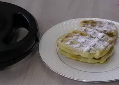 Как научиться готовить вкусные вафли в мультипекаре Редмонд по простому рецепту 🍪