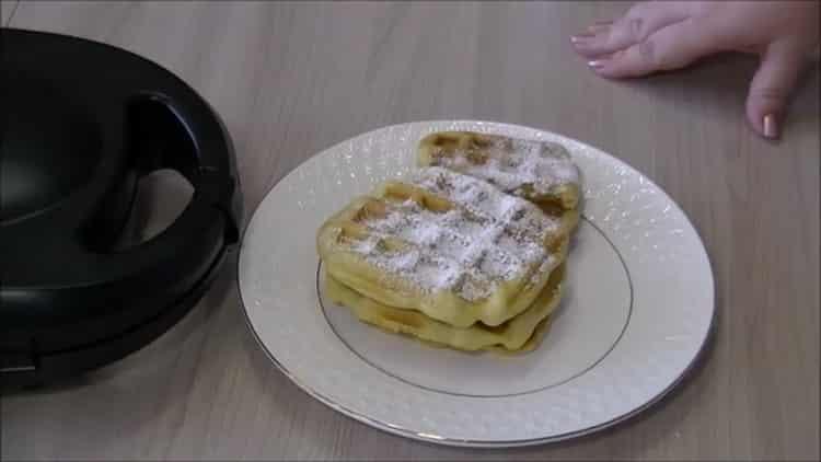 Вафли в мультипекаре Редмонд: пошаговый рецепт с фото