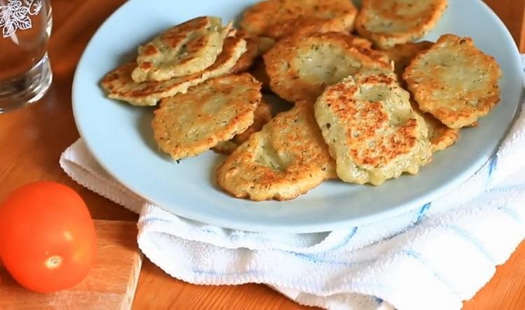 Рецепт драников из картошки с фото постные