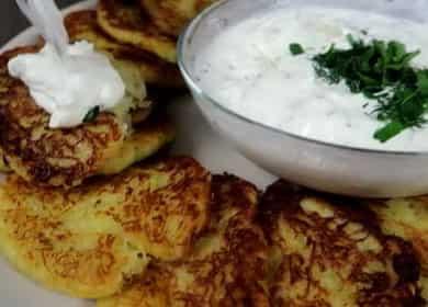Классические драники — вкусные, нежные оладушки из картофеля 🥔