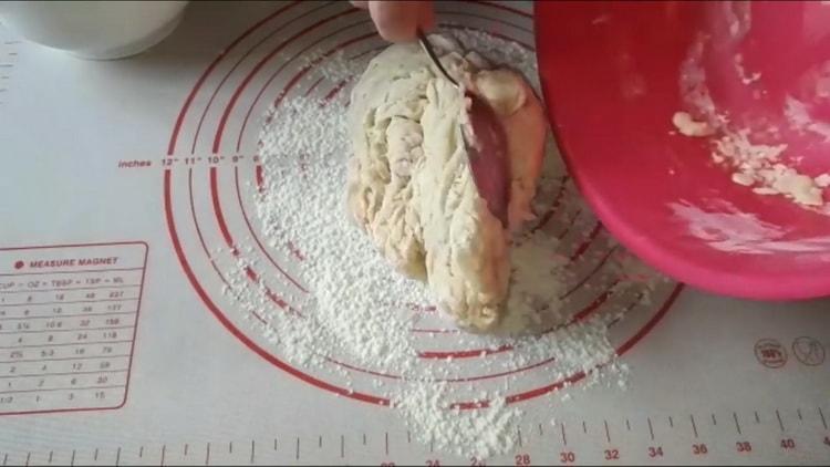 дрожжевое тесто как пух замесите тесто