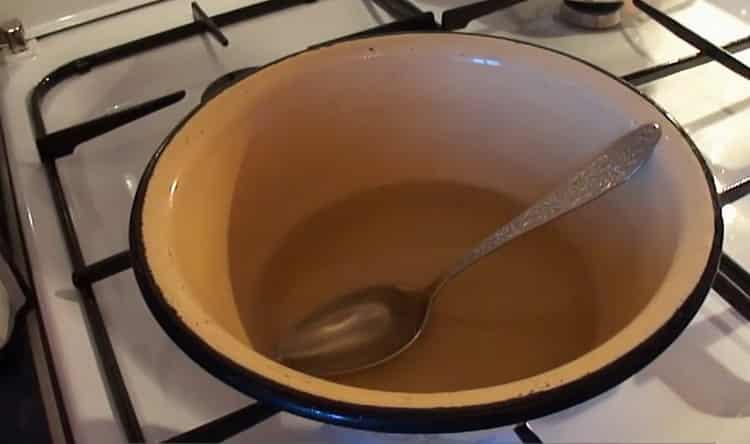 Для приготовления желе подготовьте ингредиенты
