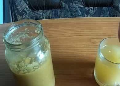 Как приготовить витаминную смесь из имбиря с лимоном и медом для повышения иммунитета 🍯