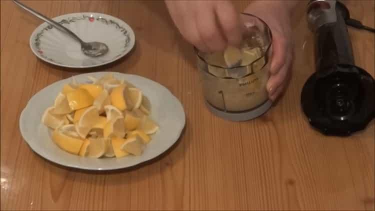 Для приготовления имбиря смешайте ингредиенты