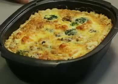 Киш с лососем и брокколи — рецепт от профессионального шеФ-повара 🥧