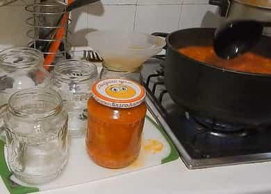 Лечо из болгарского перца с томатной пастой на зиму — очень просто и вкусно 🌶