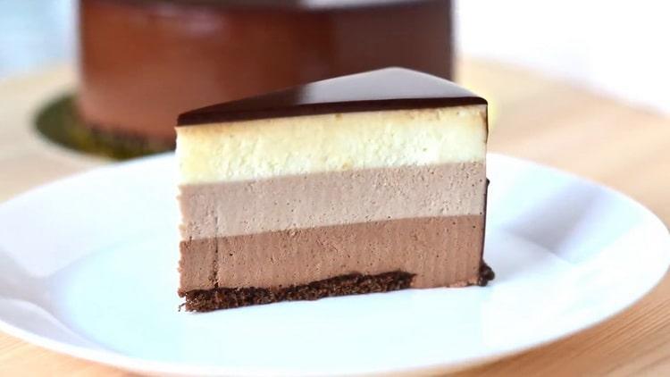 муссовый торт готов