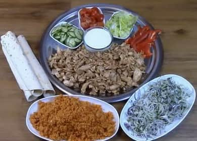 Мясо для шаурмы: пошаговый рецепт с фото