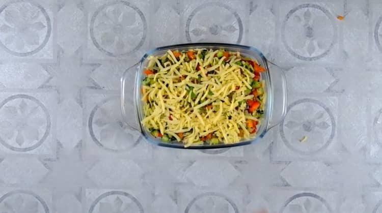 овощная лазанья готова