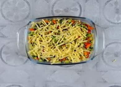Вкусная овощная лазанья — просто, полезно и очень вкусно 🥧