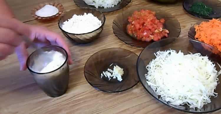 Для приготовления перца смешайте ингредиенты