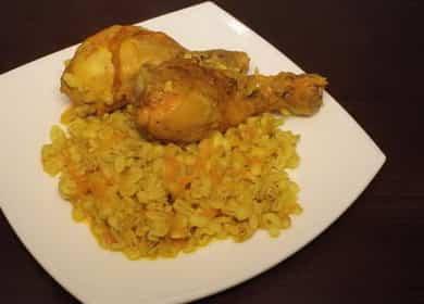 Как научиться готовить вкусную перловку с курицей в мультиварке 🍗