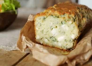 Быстрый пирог со шпинатом и сыром — более полезного обеда вы не придумаете 🥧