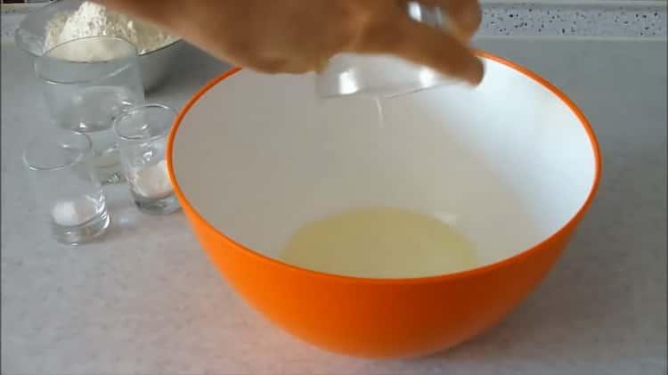 Готовим постное тесто
