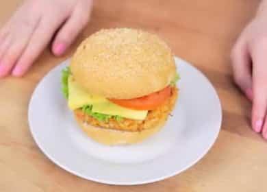 Рецепт крабсбургера по пошаговому рецепту с фото