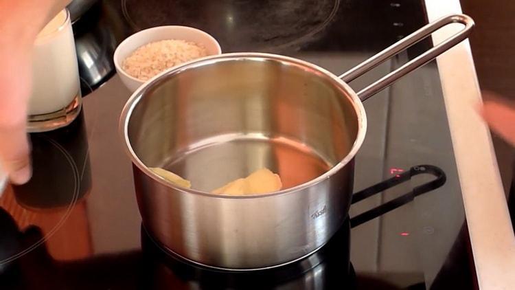Готовим рисовый пудинг по рецепту в духовке