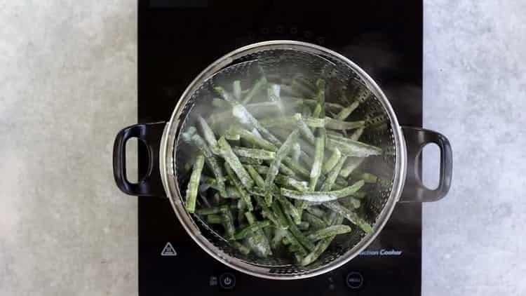 Как готовится стручковая фасоль по простому рецепту